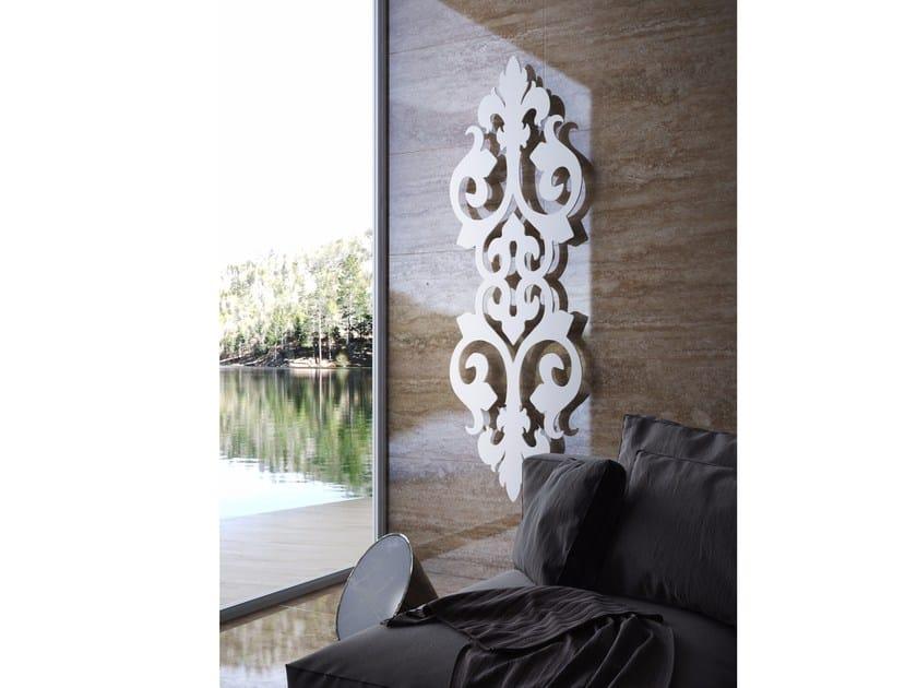 Wall-mounted panel radiator PARIS by BLEU PROVENCE