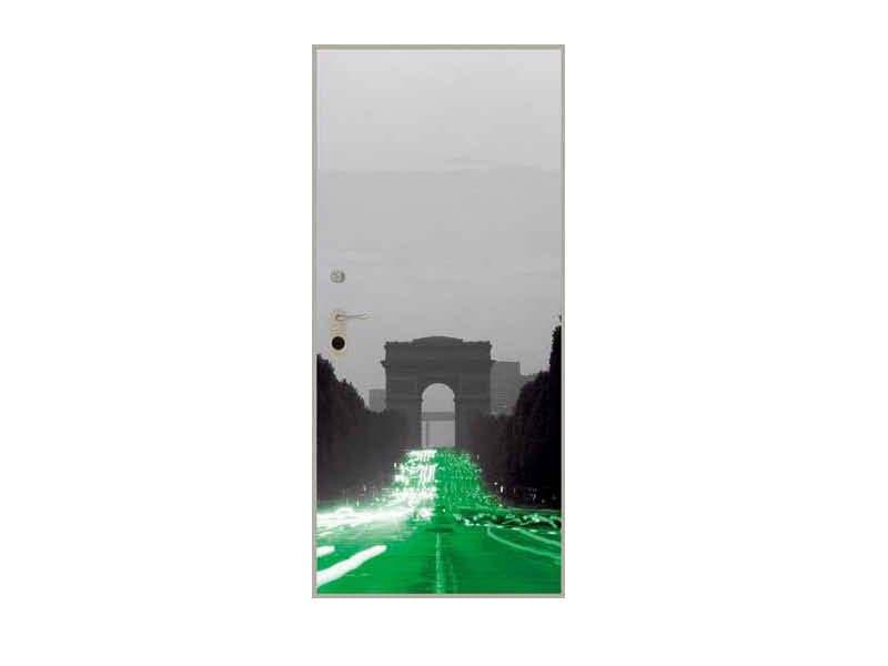 Door panel for indoor use GRAPHICS-IN PARIS by Metalnova