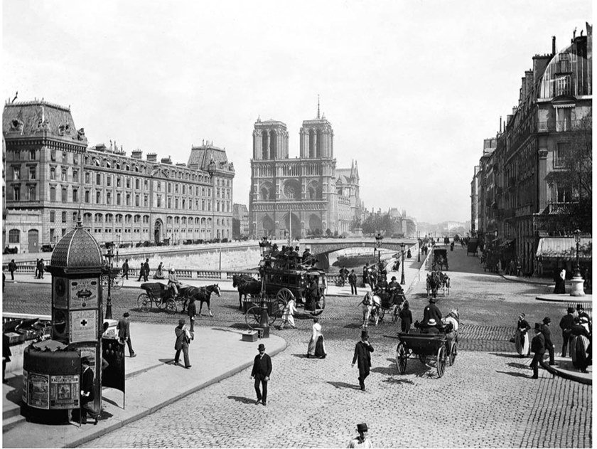Stampa fotografica PARIS NOTRE DAME AND SAINT MICHEL BRIDGE by Artphotolimited