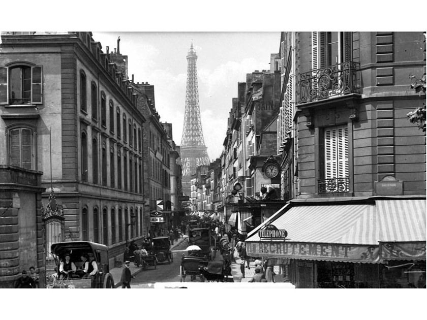 Stampa fotografica PARIGI VISTA DA SAINT-DOMINIQUE STREET by Artphotolimited