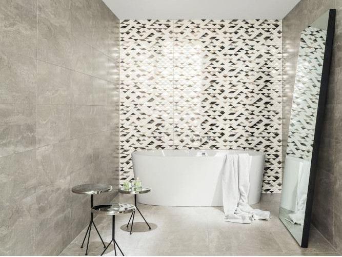 Wall/floor tiles with stone effect PARIS SAINT GERMAIN by tubadzin