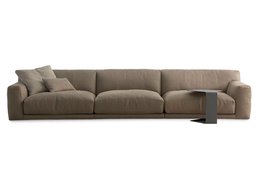 Sectional fabric sofa PARIS-SEOUL | Fabric sofa by poliform