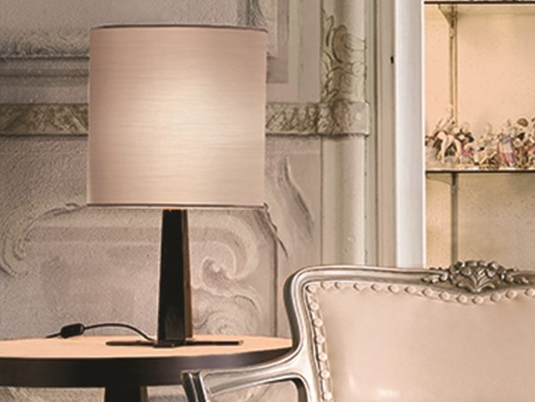 Fabric table lamp PARIS | Table lamp by Longhi