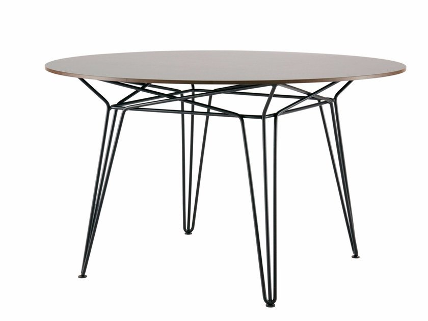 Round HPL garden table PARISI | HPL table by SP01