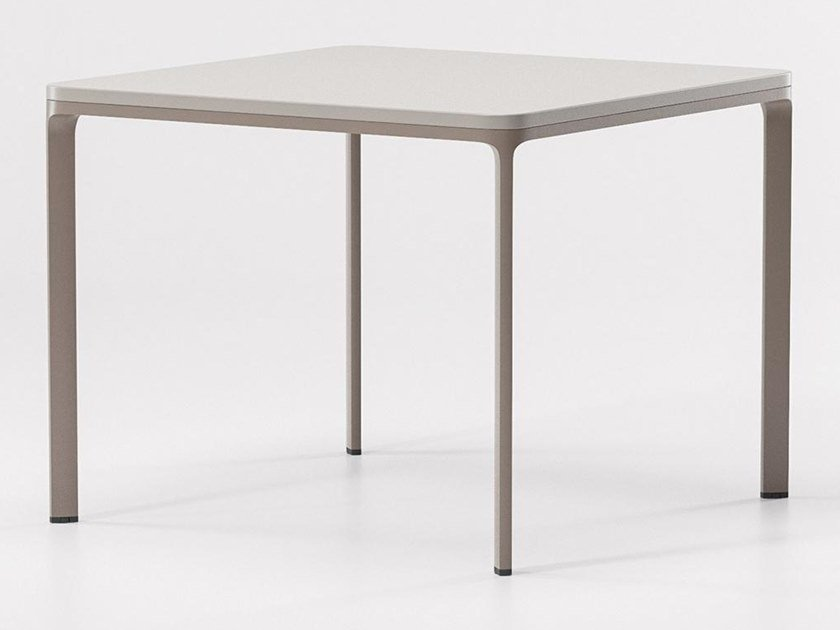 Square stone garden table PARK LIFE | Square table by KETTAL