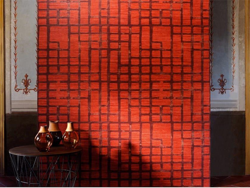 Washable vinyl wallpaper with textile effect PARLA CON ME by Élitis