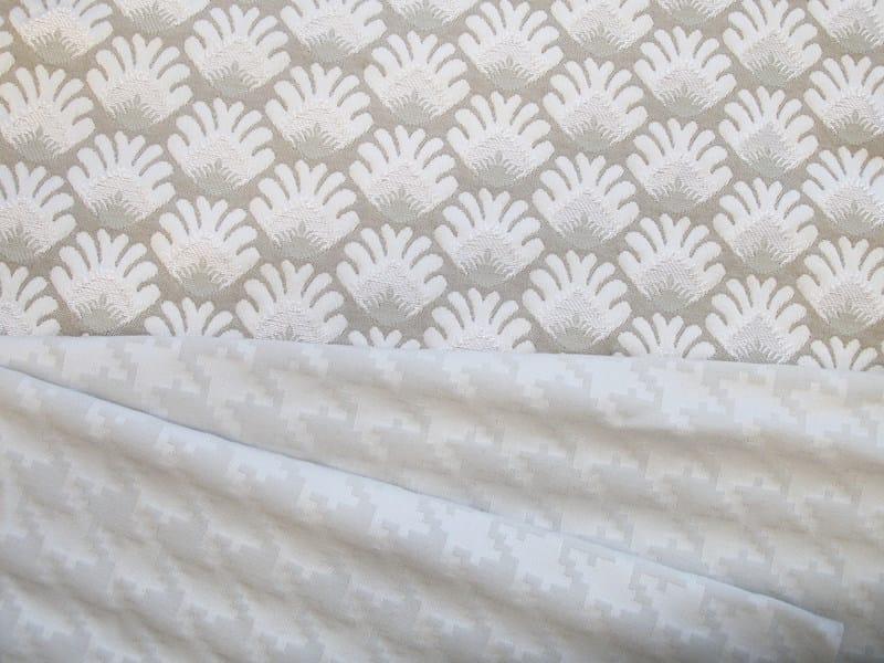 Jacquard fabric with graphic pattern PARLAPÀ VANTAJ by l'Opificio