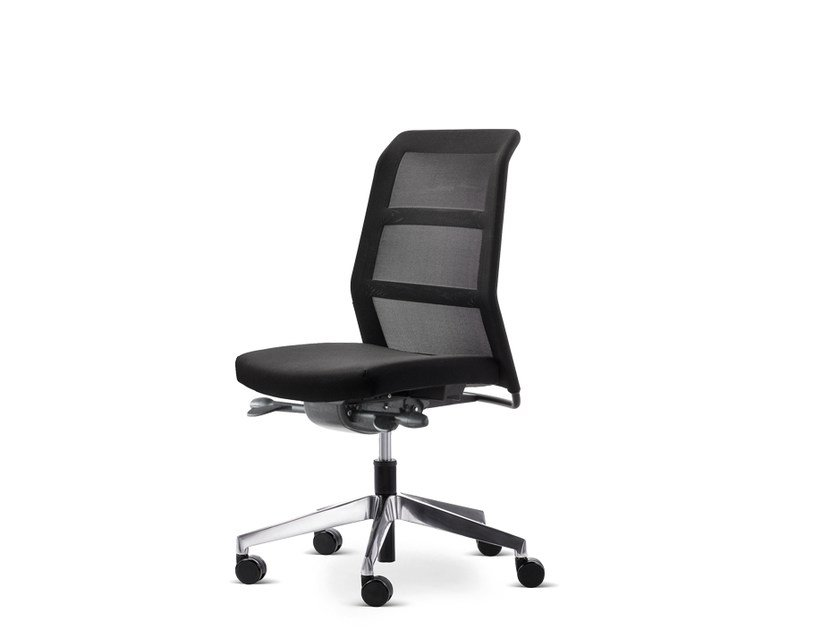 Swivel task chair with 5-Spoke base with casters PARO_24/7 | Task chair by Wiesner-Hager