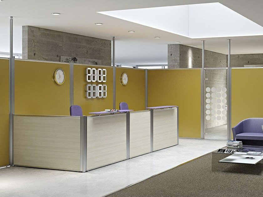 partition wall office. Melamine-faced Chipboard Office Partition FLEXI OPEN | Movable Wall