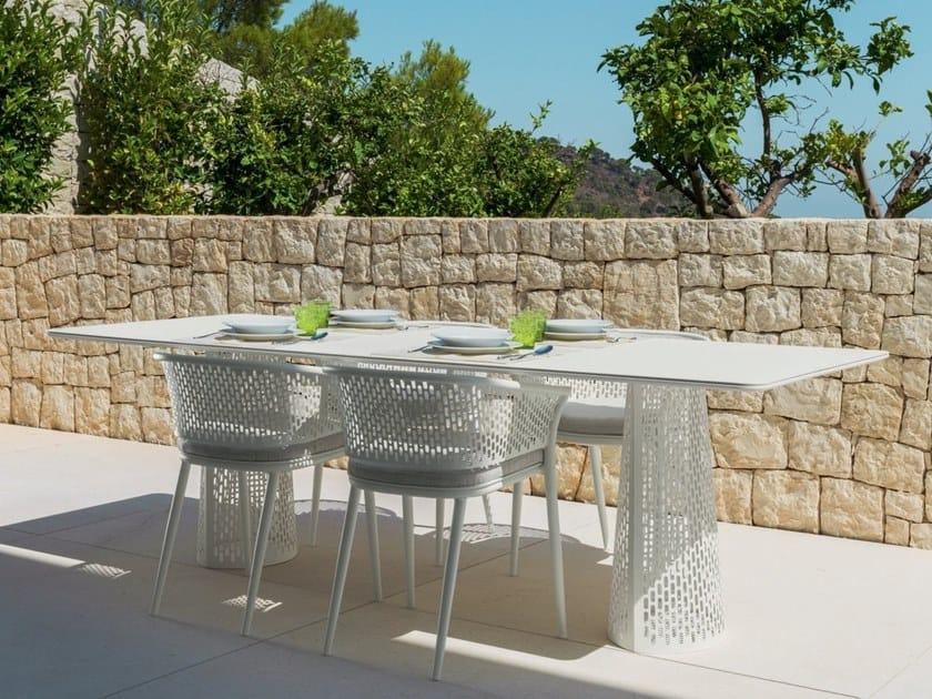 Tavolo da giardino rettangolare PASCAL | Tavolo rettangolare by Talenti