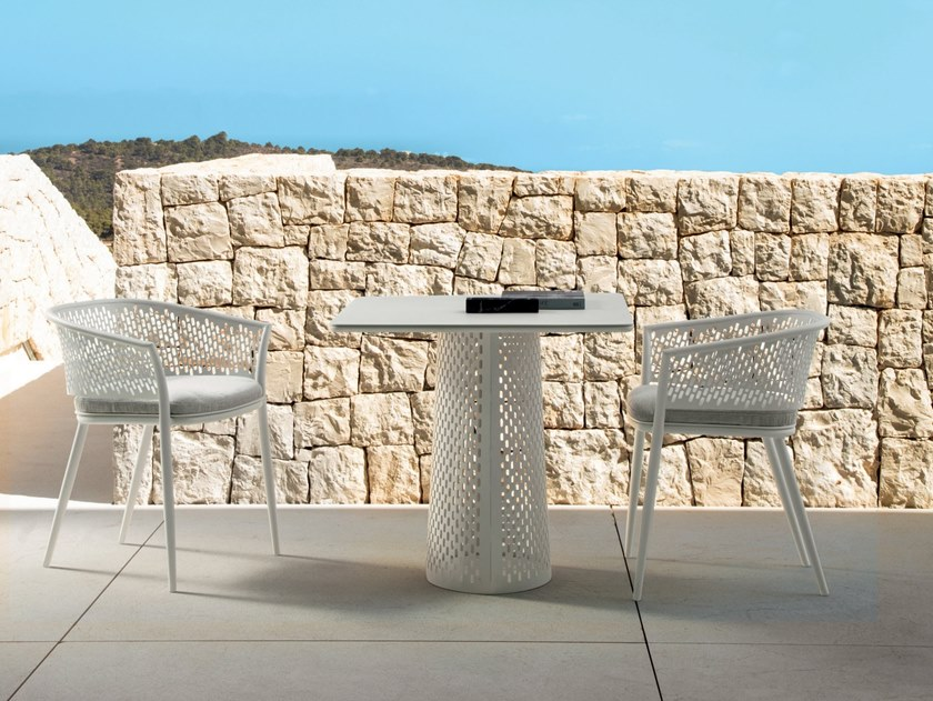 Square garden table PASCAL   Square table by Talenti