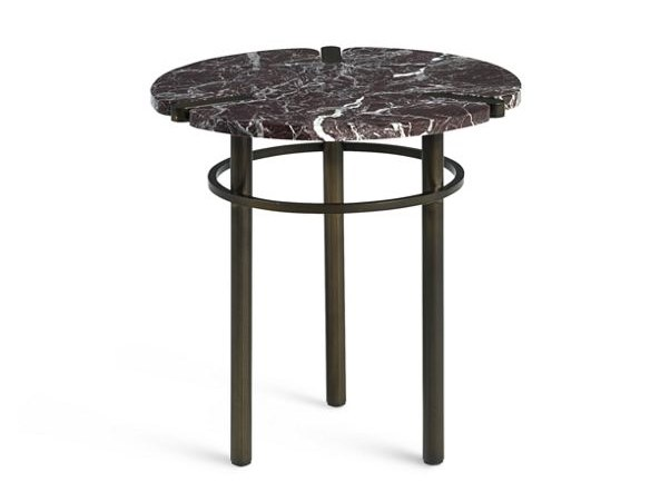 Round marble side table PASEO | Coffee table by ROCHE BOBOIS