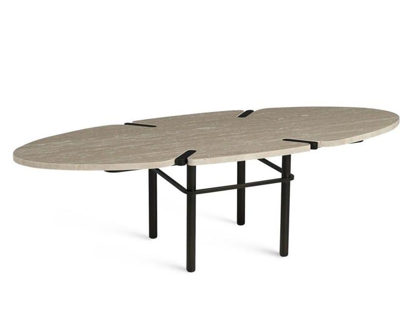 Roche Bobois Tavolini Salotto.Paseo Tavolino Ovale By Roche Bobois Design Eric Gizard