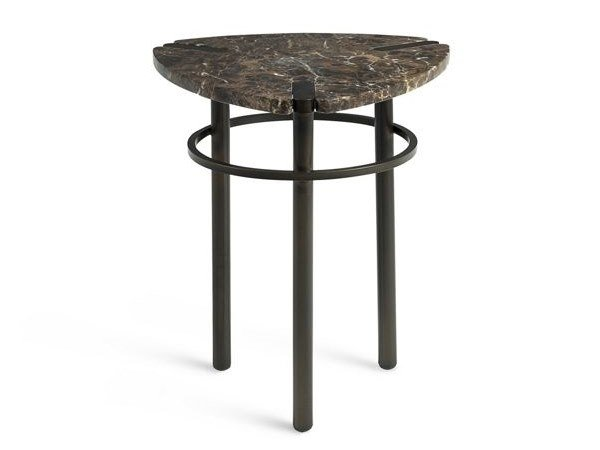 Triangular marble coffee table PASEO | Marble coffee table by ROCHE BOBOIS