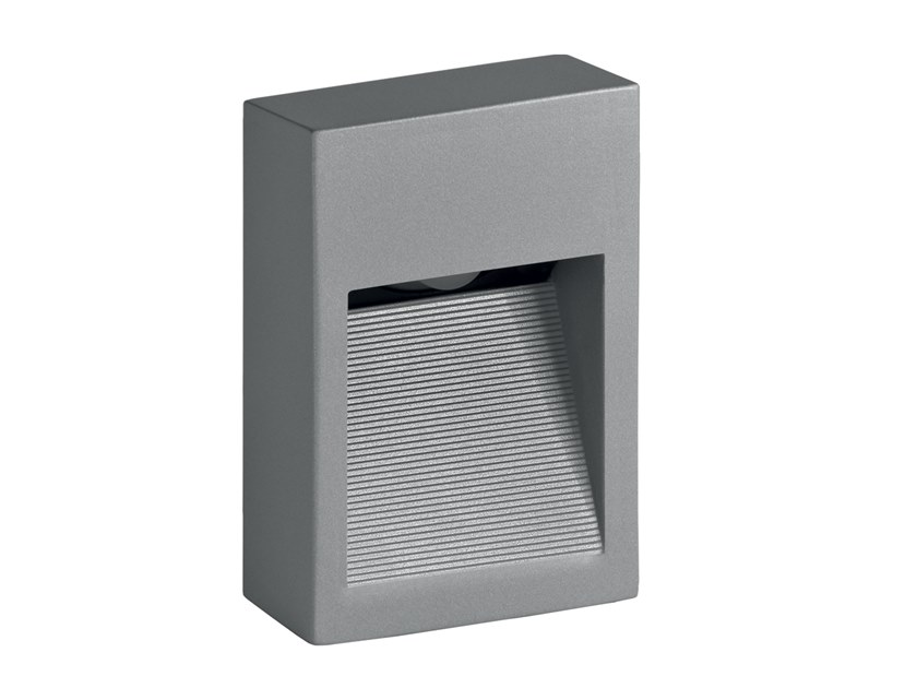 LED wall-mounted outdoor steplight Pasito Mini 1.2 by L&L Luce&Light