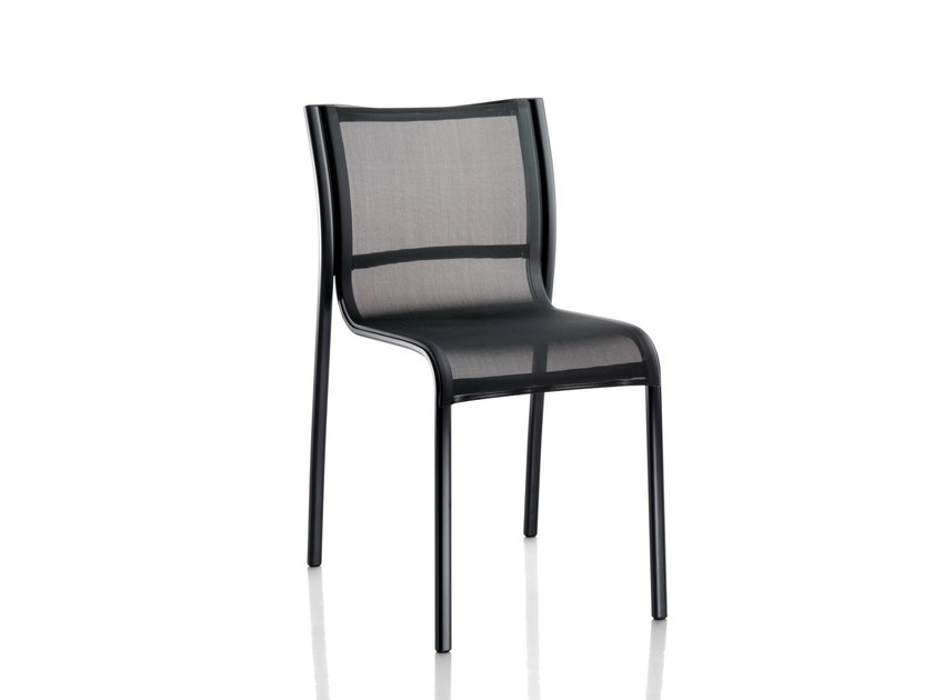 Stackable polyester chair PASO DOBLE | Chair by Magis