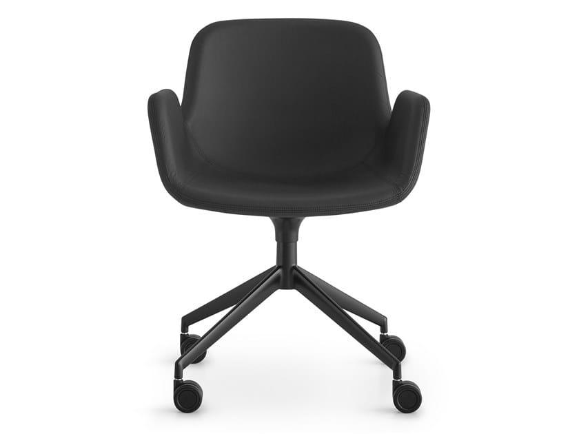 Swivel fabric task chair PASS   Swivel task chair by Lapalma