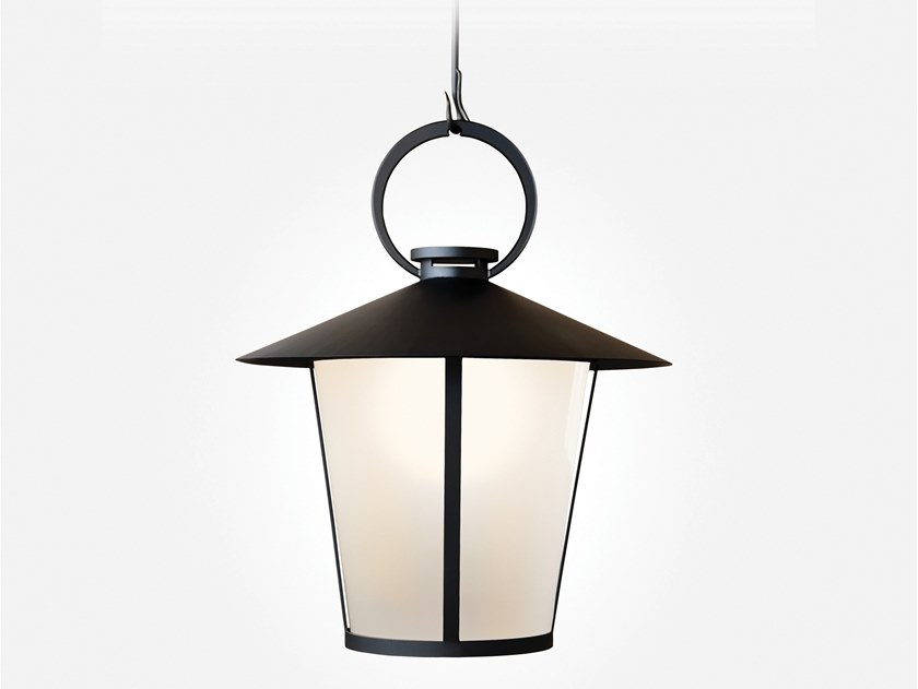 Direct light glass and steel pendant lamp PASSAGE | Pendant lamp by Kevin Reilly Collection
