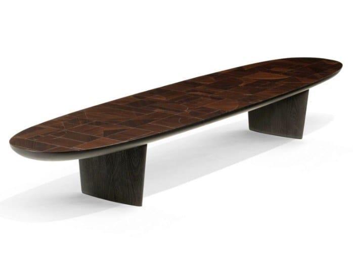 Tavolino basso in legno massello PATCHWORK | Tavolino by ROCHE BOBOIS