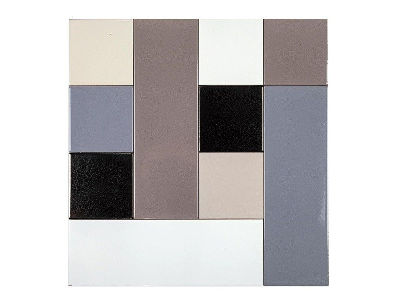 Indoor faïence wall tiles PATCHWORK MO.DE. | PM1 by Danilo Ramazzotti