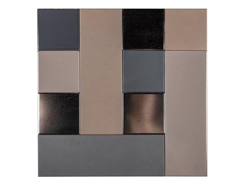 Indoor faïence wall tiles PATCHWORK MO.DE. | PM4 by Danilo Ramazzotti
