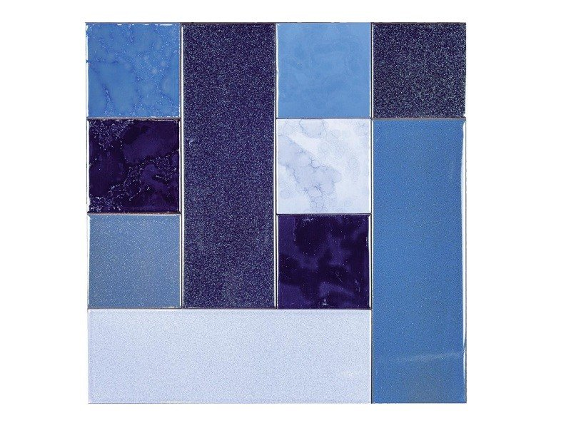 Indoor faïence wall tiles PATCHWORK   PA9 by Danilo Ramazzotti