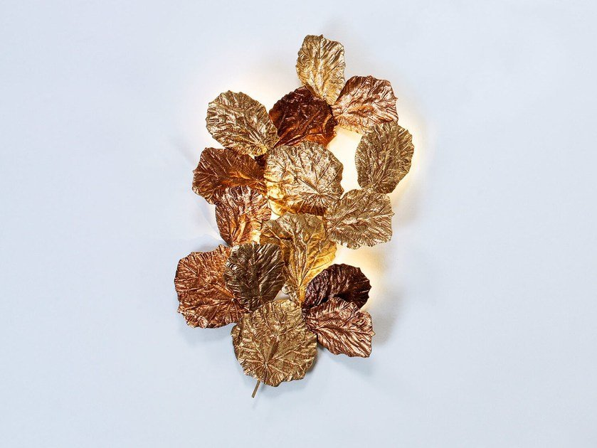 LED bronze wall lamp PATHLEAF | Wall lamp by Serip