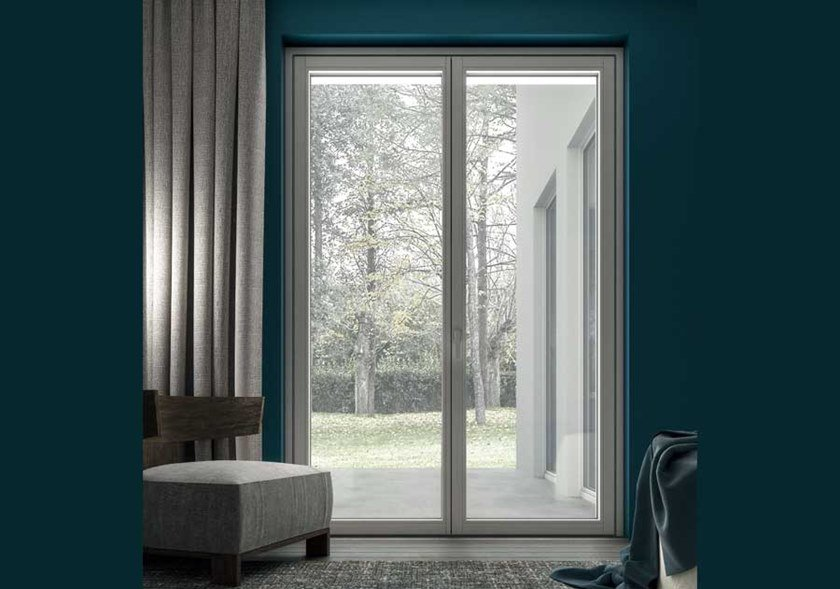 SLIM | Porta-finestra a battente