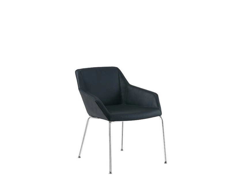 Reception chair with armrests PAUL | Reception chair by Sesta