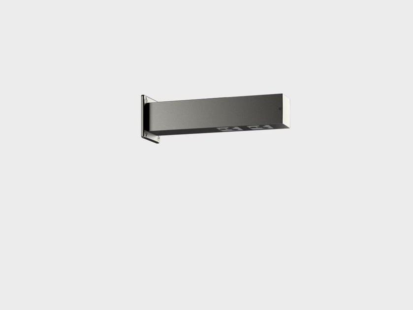 LED aluminium wall lamp PAULE SYSTEM I by Cariboni group
