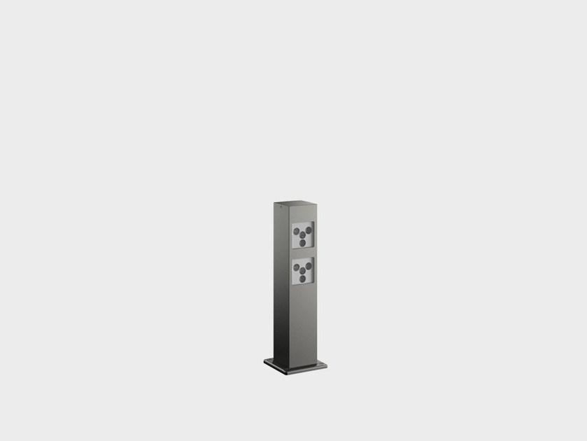 LED aluminium bollard light PAULE SYSTEM IB by Cariboni group