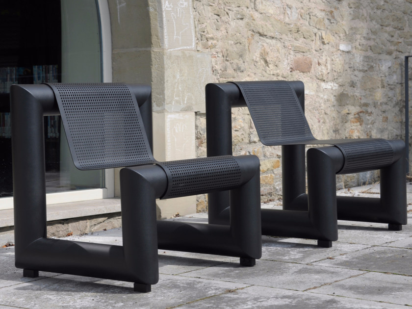 PAUSA 800   Bench with back Pausa Series By BENKERT BANKE design ...