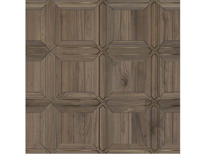 Pavimento/rivestimento intarsiato in legno per interni MODULO SPECIALE MATITA POSA 131 by FOGLIE D'ORO