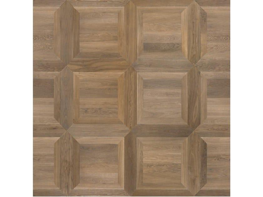 Pavimento/rivestimento intarsiato in legno per interni MODULO SPECIALE MATITA POSA 134 by FOGLIE D'ORO