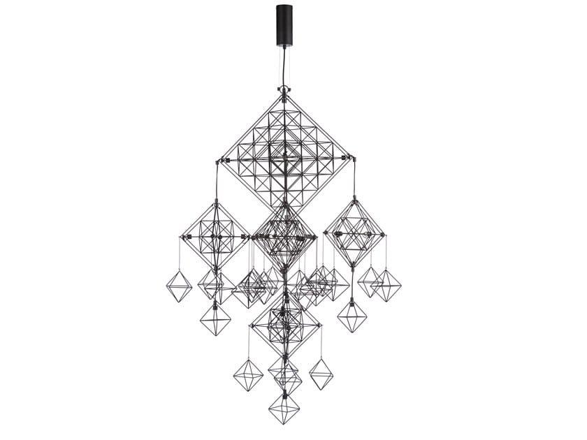 LED metal pendant lamp PAVUK by Forestier