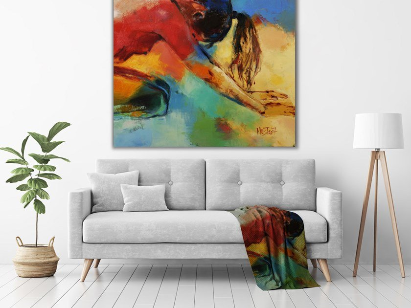 Author made artistic print PE-003 by MOMENTI