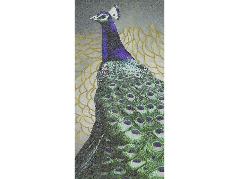 Glass mosaic PEACOCK by Mutaforma