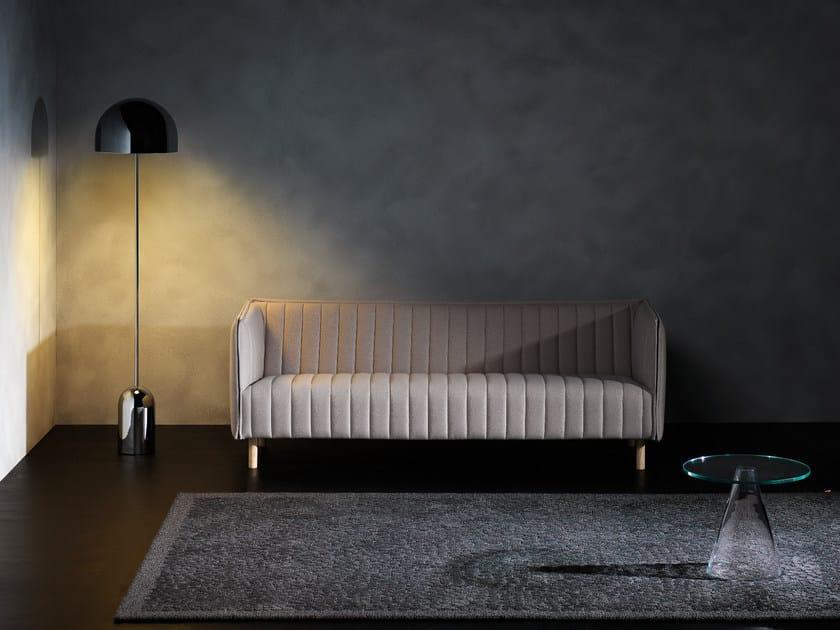 Handmade rectangular wool rug PEBBLE by Kasthall