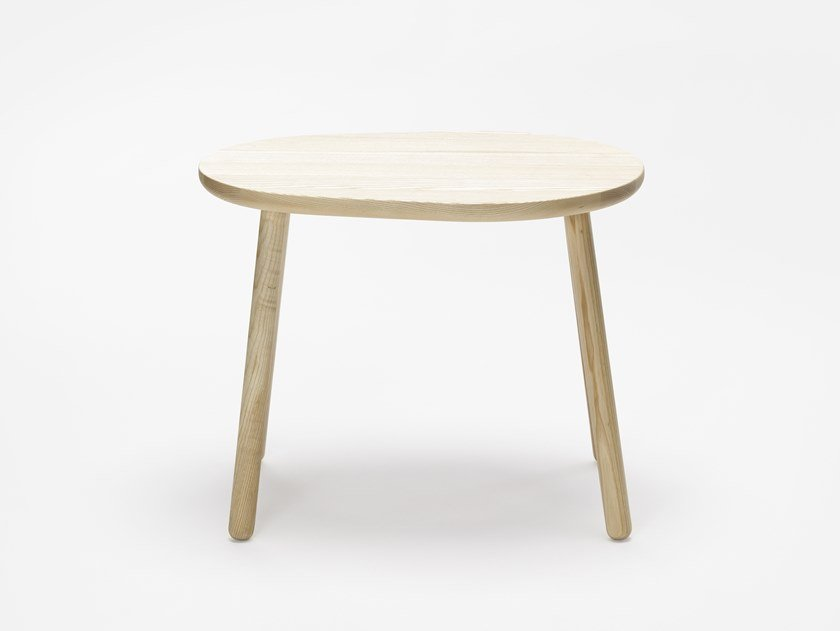 Ash coffee table for living room PEBBLE M by Zilio A&C