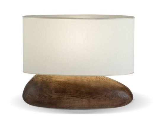 Ash table lamp PEBBLE by ROCHE BOBOIS