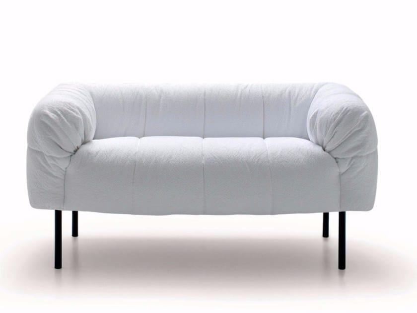 Upholstered fabric sofa PECORELLE | Sofa by arflex