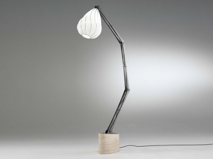Murano glass floor lamp PEGASO RP 409 by Siru