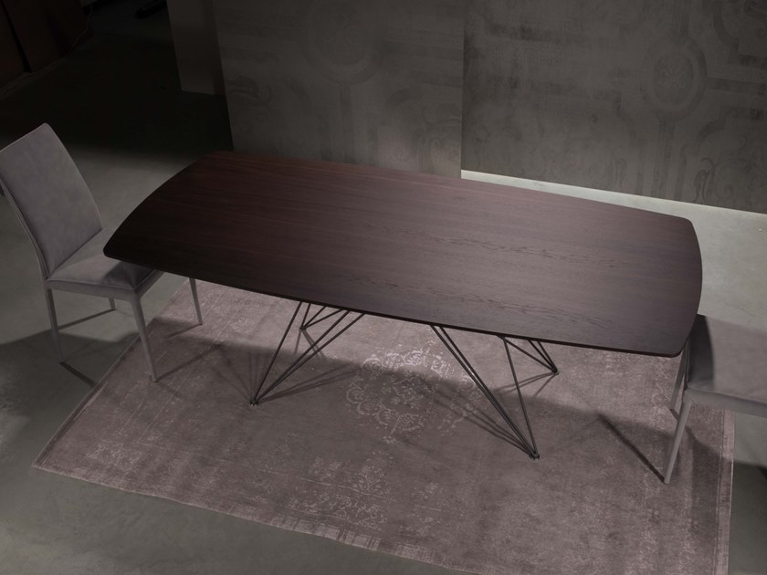 Rectangular wooden table PEGASO | Wooden table by RIFLESSI