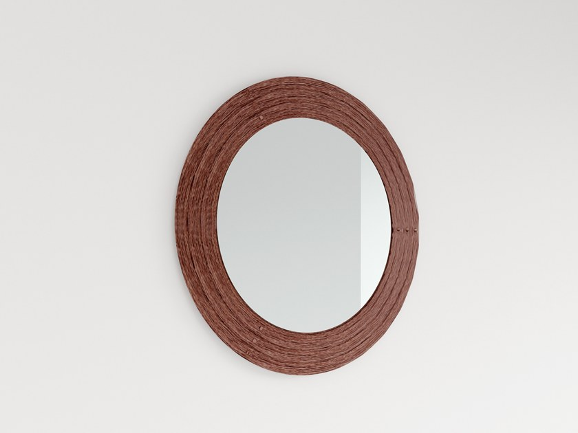 Round wall-mounted mirror PELEO by Barel