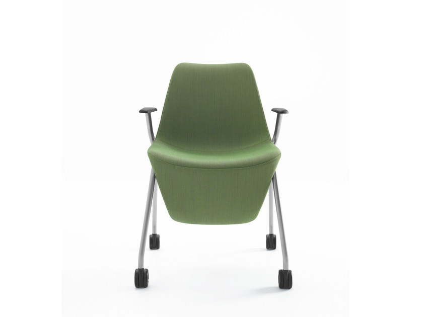 Easy chair with armrests with storage space PELIKAN 10H/10HC by profim