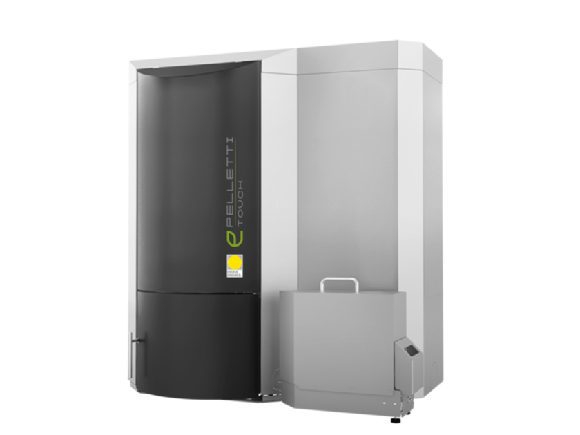 Pellet boiler PELLETTI TOUCH by Paradigma Italia