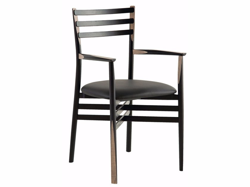 Bon Ash Chair With Armrests PENCIL | Chair With Armrests By ROCHE BOBOIS