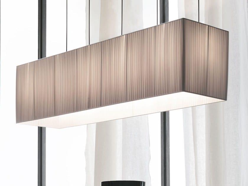 Fabric pendant lamp PLISSÈ | Pendant lamp by Adriani e Rossi edizioni
