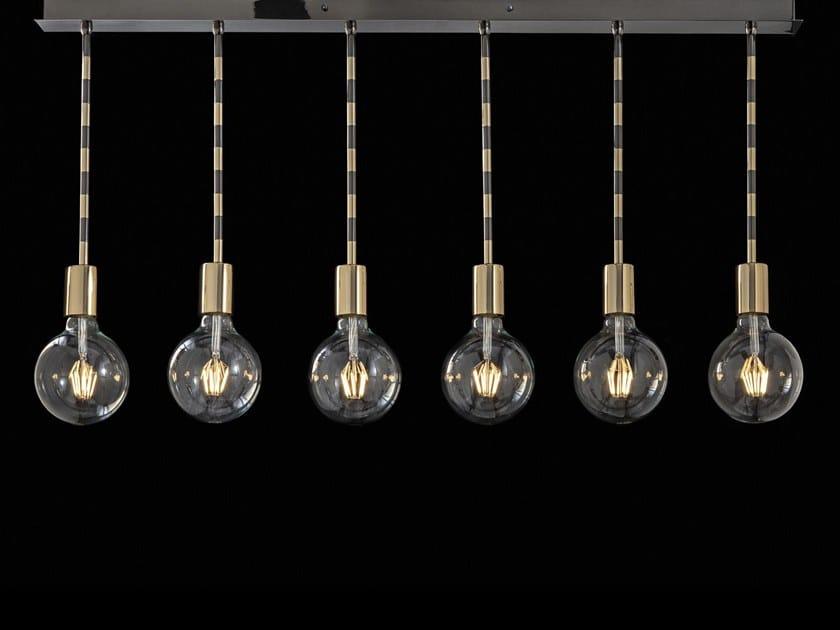 LED brass pendant lamp LOLITA | Pendant lamp by Aiardini