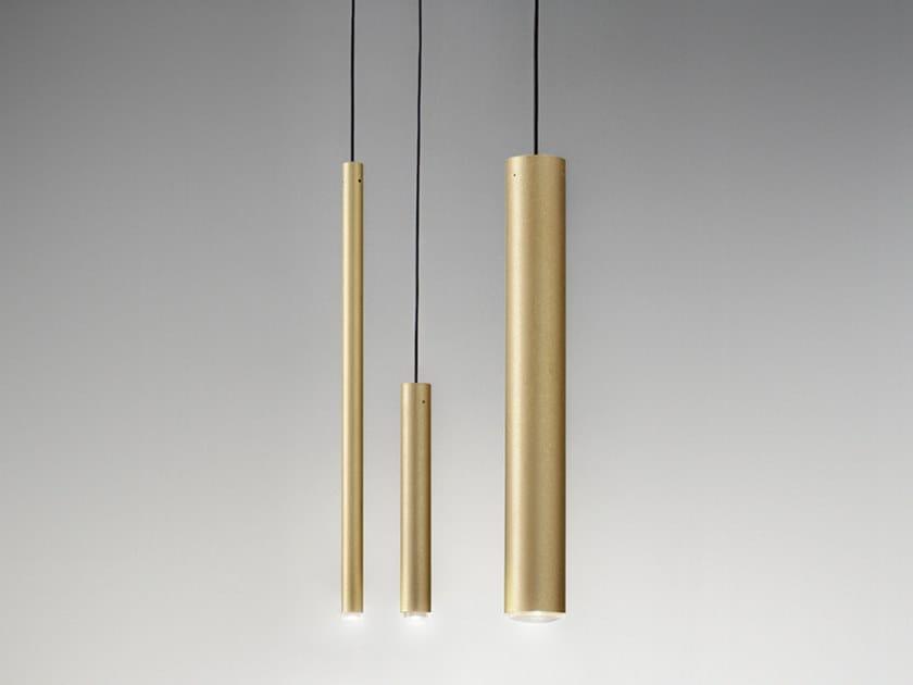 Lampada a sospensione a LED TUBÒ | Lampada a sospensione by Aldo Bernardi